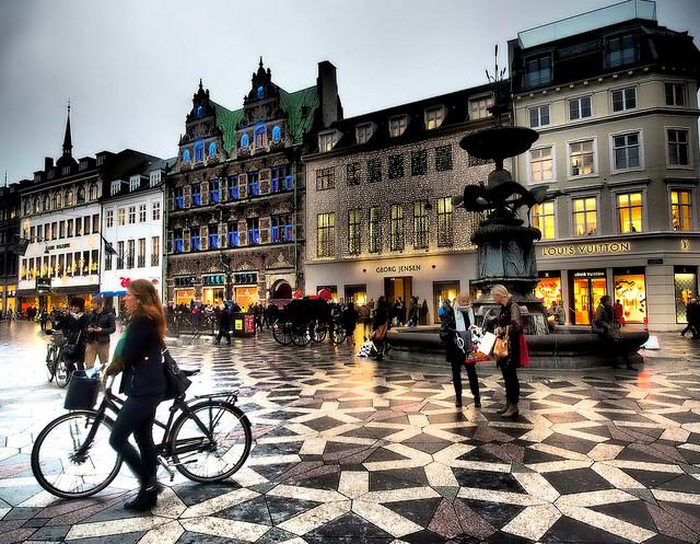 Strøget - Koppenhága
