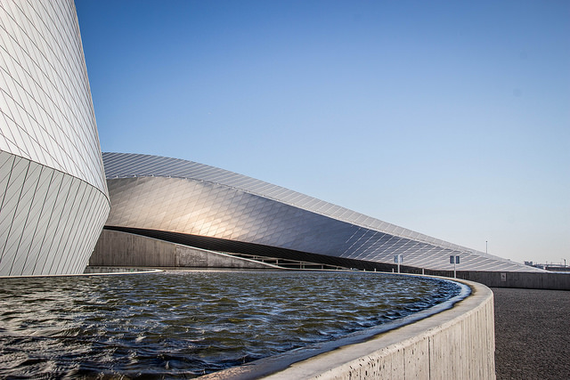 Den Blå Planet akvárium Koppenhágában