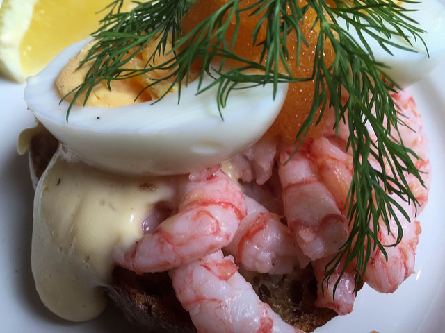 Smørrebrød - dán nyitott szendvics