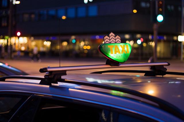 Taxival a dán fővárosban
