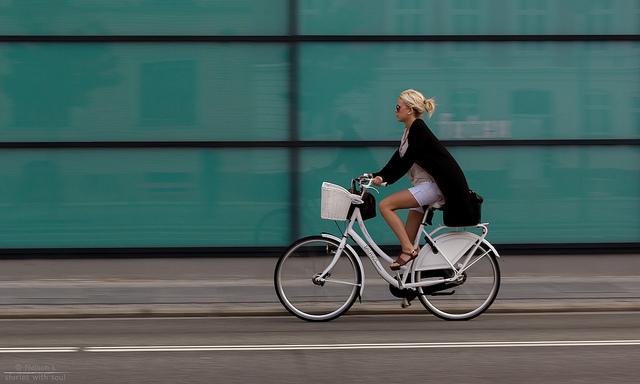 Kerékpáron Koppenhágában