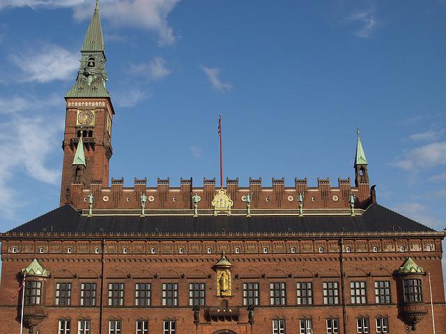 Városháza - Rådhus - Koppenhága