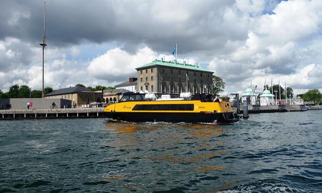 Hajóval Koppenhágában