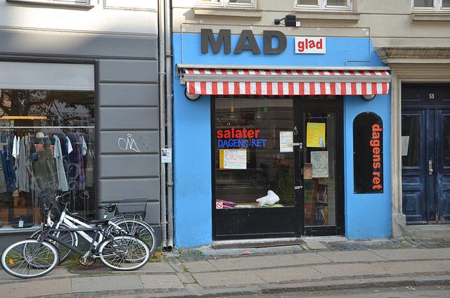 Napi menü Koppenhágában