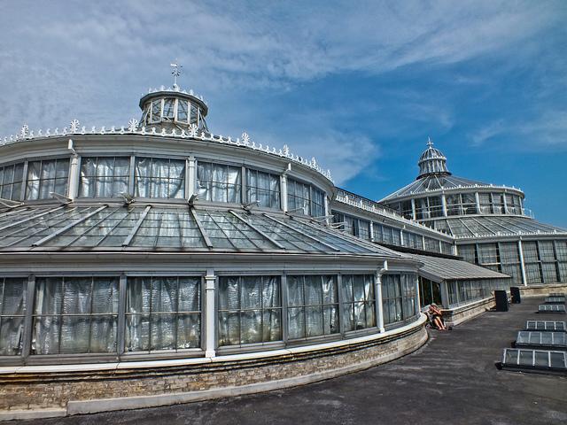 Botanikus kert Koppenhágában