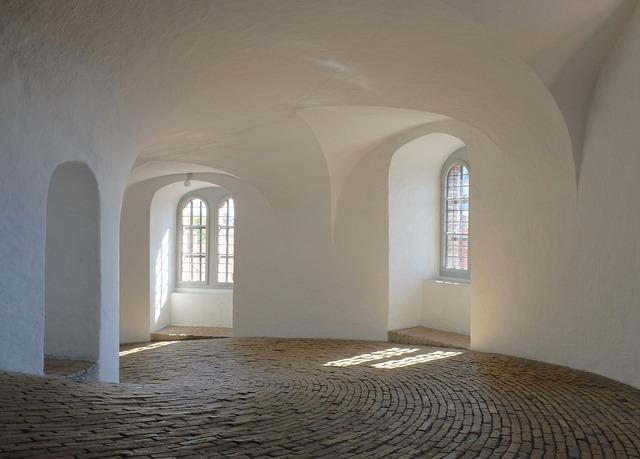 A híres Rundetårn Koppenhágában