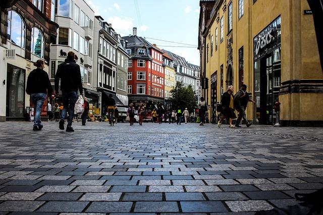 Koppenhága belvárosa