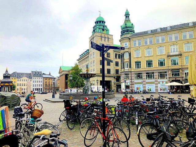 Kerékpárral Koppenhágában