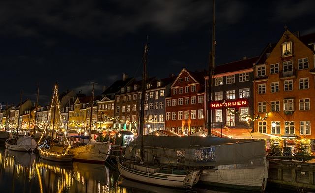 Koppenhága fényei