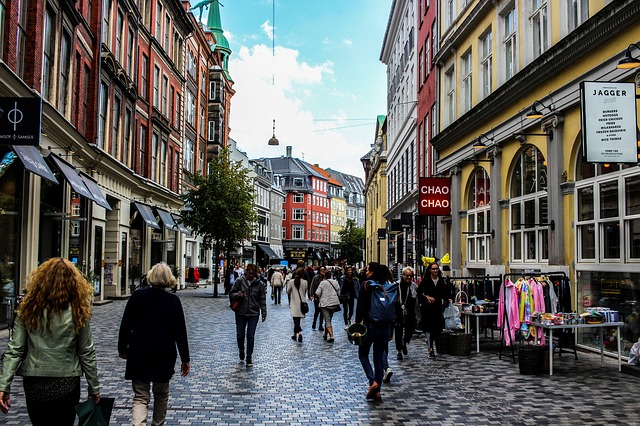 Üzletek Koppenhágában