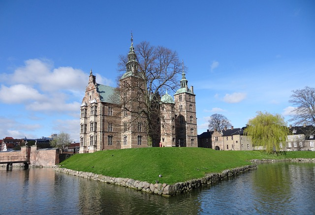 Rosenborg kastély Koppenhágában