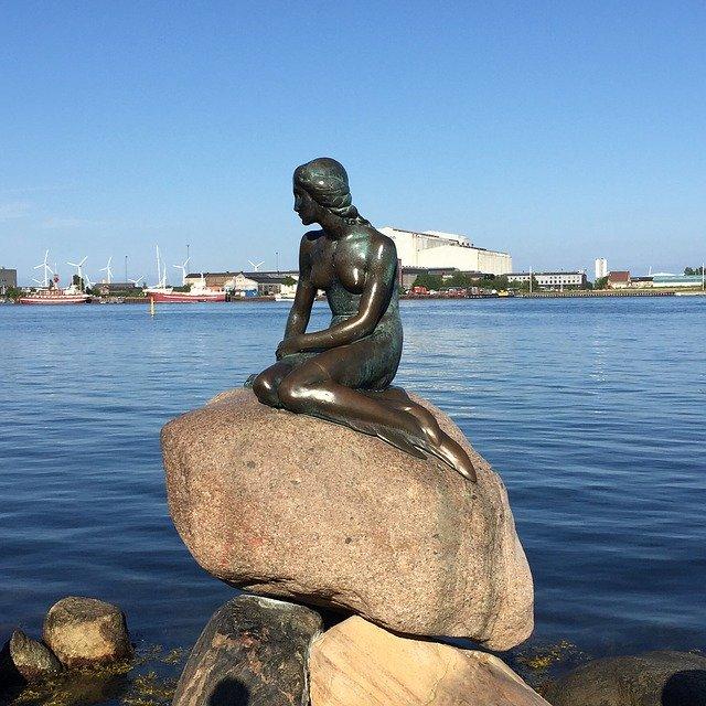 Kis hableány Koppenhágában